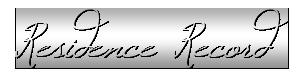 Residence Record Logo